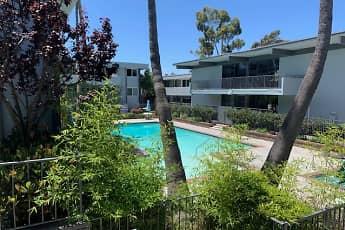 Pool, Torrance Venture Apartments, 1