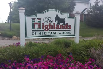 Community Signage, The Highlands Of Heritage Woods, 2