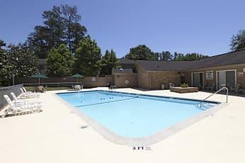 Pool, Tanglewood, 1