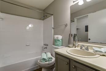 Bathroom, Sandalwood, 2