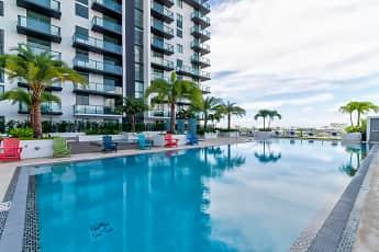 Pool, Miami Plaza, 1