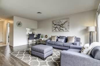 Living Room, Loma Palisades Apartments, 0