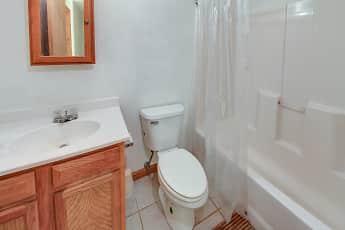 Bathroom, River Island Apartments, 2