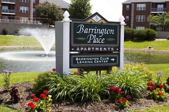 Community Signage, Barrington Place Apartments, 0