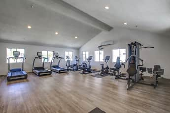 Fitness Weight Room, Fountain View Apartments, 1
