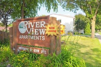 Community Signage, Riverview Apartments, 2