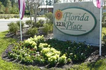 Community Signage, Florida Place Apartments, 0