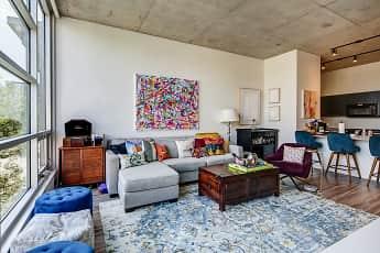 Living Room, 1819 Lofts, 1