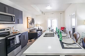 Kitchen, Lehi Tech Apartments, 1
