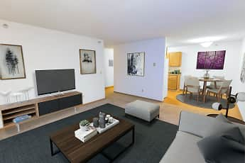 Living Room, Albertville Meadows Apartments, 0