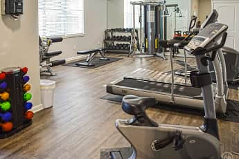 Fitness Weight Room, Sugar Hill Overlook Townhomes, 2