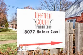 Community Signage, Hafner Court Apartments, 2