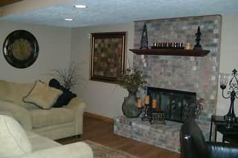Living Room, Eastlake Woods Apartments, 0