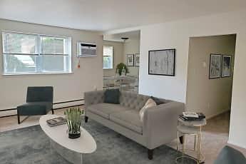 Living Room, Liberty Square Apartments, 2