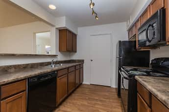 Kitchen, Bell Cove Apartments, 1