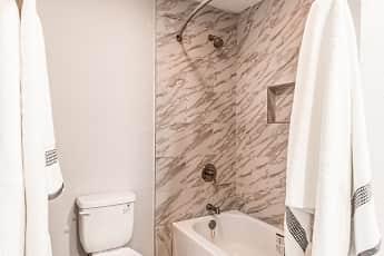 Bathroom, Redbud Bungalows, 2