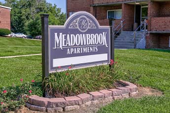 Community Signage, Meadowbrook Apartments, 1