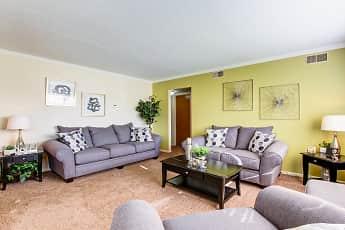 Living Room, Cambridge Square Apartments, 1