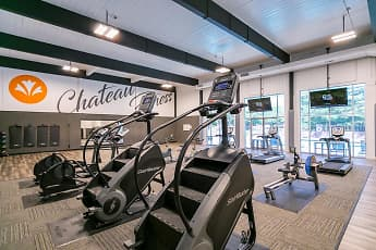 Fitness Weight Room, Chateau On Vine, 1