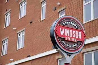 Community Signage, Windsor Station Apartments, 0