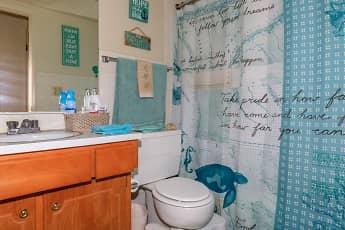 Bathroom, Beau Jardin, 2