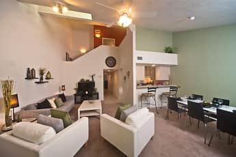 Living Room, Cobblestone, 0