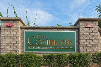 Community Signage, The Commons Upper Saddle River, 2