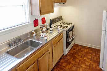 Kitchen, Washington Park Apartments, 0