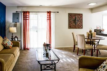 Dining Room, Colonial Apartments, 0