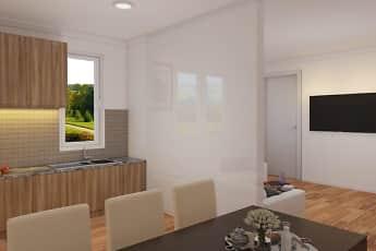 Kitchen, Parkside Apartments, 2