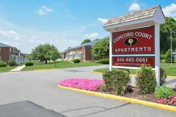 Community Signage, Concord Court Apartments, 0