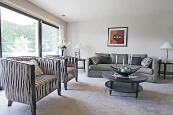 Living Room, SouthRidge Apartments & Townhomes, 1
