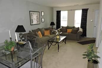 Living Room, Spring Garden Townhouses, 1