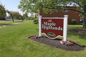 Community Signage, Maple Highlands, 0