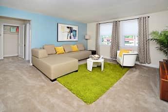 Living Room, Oak Grove Apartments & Townhomes, 0