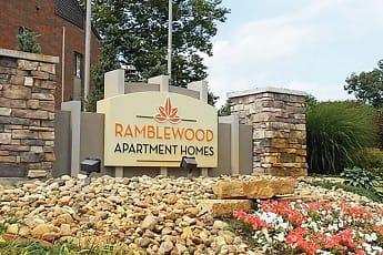 Community Signage, Ramblewood Apartments, 1