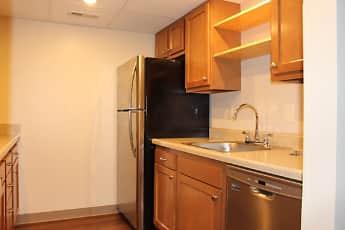 Kitchen, Trenton Square Apts, 1