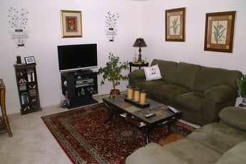 Living Room, Waterway Court Apartments, 0