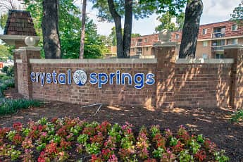 Community Signage, Crystal Springs Apartments, 2