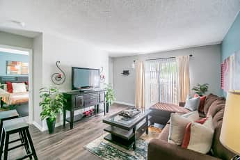 Living Room, Coopers Pond Apartments, 0