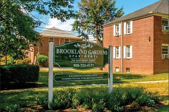 Community Signage, Brookland Garden Apartments, 0