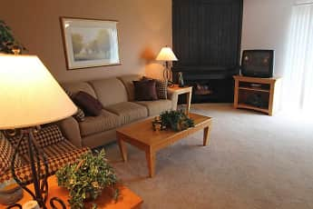 Living Room, Woodcrest Apartments, 0
