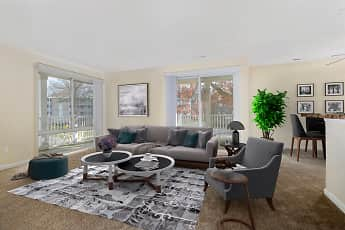 Living Room, The Verona at Landover Hills, 0