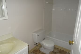 Bathroom, Carriage House Apartments, 2