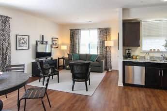 Living Room, Summit Terrace Luxury Apartments, 1