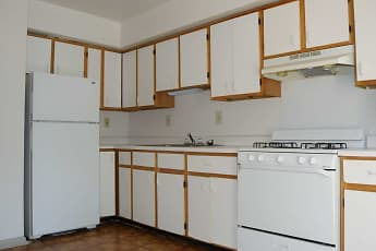 Kitchen, Keystone Village and Penn Street Apartments, 1