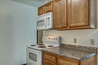 Kitchen, Silver Leaf Apartments, 1