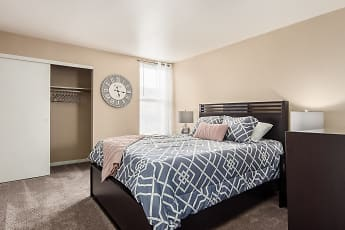 Bedroom, Century City Apartments, 2