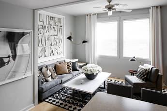 Living Room, Hawks Ridge - Per Bed Lease, 1
