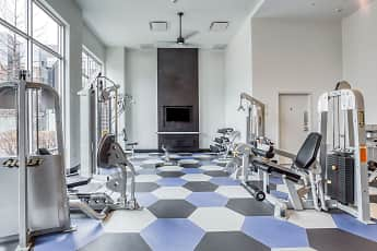 Fitness Weight Room, The Lex- Per Bed Lease, 2